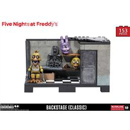 Five Nights at Freddy's: Five Nights at Freddy´s Medium Construction Set Backstage (Classic Series)