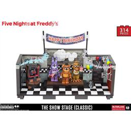 Five Nights at Freddy's: Five Nights at Freddy´s Large Construction Set Showstage (Classic Series)