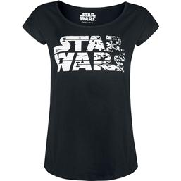 Star Wars Episode VIII Ladies T-Shirt Logo