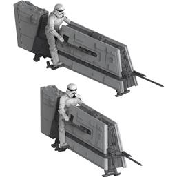 Star Wars: Star Wars Solo Build & Play Model Kit 2-Pack with Sound 1/28 Imperial Patrol Speeder