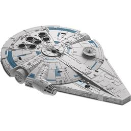 Star Wars: Star Wars Solo Build & Play Model Kit with Sound & Light Up 1/164 Millennium Falcon