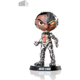 Justice League Mini Co. PVC Figure Cyborg 13 cm