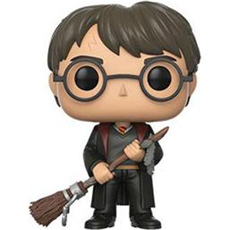 Harry Potter: Harry Potter med Fjer og Firebolt Kost POP! Vinyl Figur (#51)