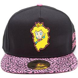 Nintendo: Nintendo Snapback Cap Princess Peach Rubber Patch