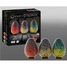 Game Of Thrones: Game of Thrones 3D Puzzle Dragon Eggs (240 pieces)