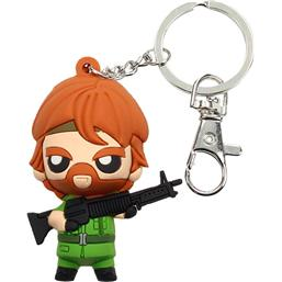 Chuck Norris: Chuck Norris Pokis Rubber Keychain Missing in Action 6 cm