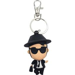 Blues Brothers: Blues Brothers Pokis Rubber Keychain Elwood 6 cm
