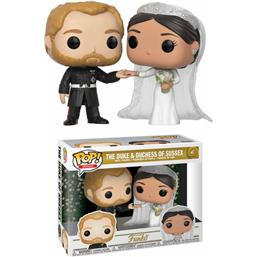 Diverse: The Duke & Duchess Of Sussex POP! Royal Family Vinyl Figur 2-Pak (#2)