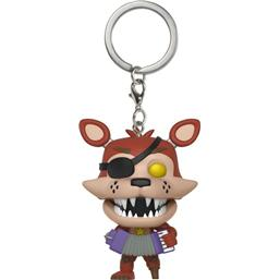 Five Nights at Freddy's (FNAF): Rockstar Foxy Pocket POP! Vinyl Nøglering