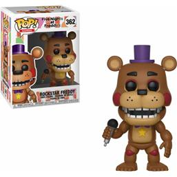 Five Nights at Freddy's (FNAF): Rockstar Freddy POP! Games Vinyl Figur (#362)