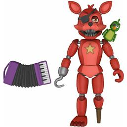 Five Nights at Freddy's (FNAF): Rockstar Foxy Action Figur 13 cm
