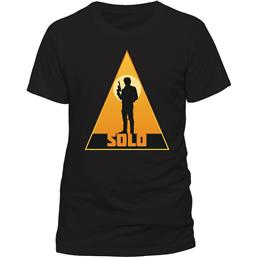 Star Wars Solo T-Shirt Retro Solo Triangle