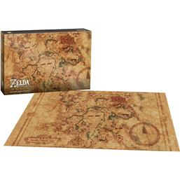 Legend of Zelda Breath of the Wild Puzzle Hyrule Map