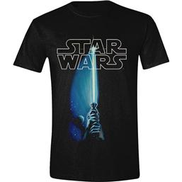 Star Wars T-Shirt Lightsaber and Logo
