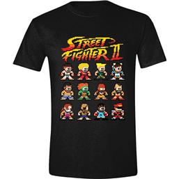 Street Fighter II T-Shirt Characters