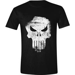 Punisher: The Punisher T-Shirt Distressed Skull