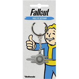 Fallout: Fallout Metal Keychain Vault-Tec