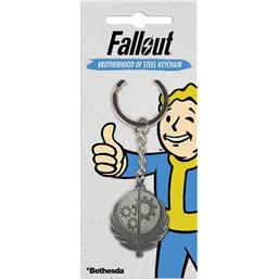 Fallout: Fallout Metal Keychain Brotherhood of Steel