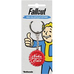 Fallout: Fallout Metal Keychain Nuka Cola Bottlecap