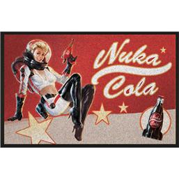 Fallout: Fallout Doormat Nuka Cola Pin-Up 80 x 50 cm