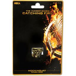 Hunger Games: Catching Fire - Mockingjay Charms ring