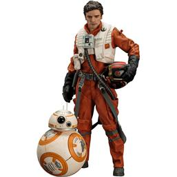 Star Wars Episode VII ARTFX+ Statue 1/10 2-Pack Poe Dameron & BB-8 7 - 18 cm