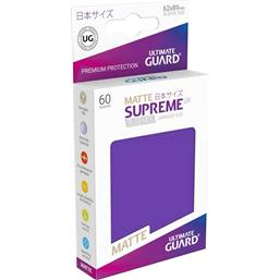Diverse: Supreme UX Sleeves Japanese Size Matte Purple (60)