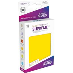 Diverse: Supreme UX Sleeves Japanese Size Matte Yellow (60)