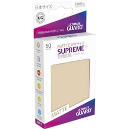Diverse: Supreme UX Sleeves Japanese Size Matte Sand (60)