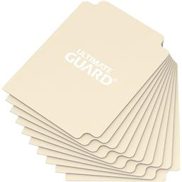 Diverse: Ultimate Guard Card Dividers Standard Size Sand (10)