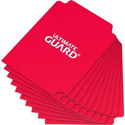 Diverse: Ultimate Guard Card Dividers Standard Size Red (10)