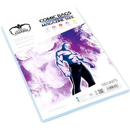 Diverse: Ultimate Guard Comic Bags Resealable Magazine Size (100)