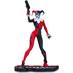 DC Comics: DC Comics Red, White & Black Statue Harley Quinn by Jim Lee 17 cm