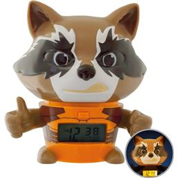 Guardians of the Galaxy: Guardians of the Galaxy Vol. 2 BulbBotz Alarm Clock with Light Rocket 13 cm