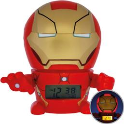 Iron Man: Marvel BulbBotz Alarm Clock with Light Iron Man 14 cm