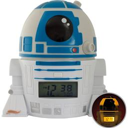 Star Wars: Star Wars BulbBotz Alarm Clock with Light R2-D2 14 cm