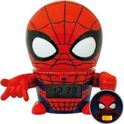 Spider-Man: Marvel BulbBotz Alarm Clock with Light Spider-Man 14 cm