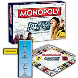 Jay & Silent Bob: Jay and Silent Bob Strike Back Board Game Monopoly *US Version*