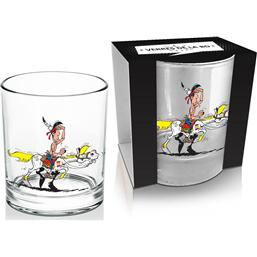 Lucky Luke: Lucky Luke Whisky Glass Luke & Jolly Jumper #1