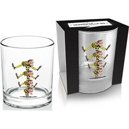 Lucky Luke: Lucky Luke Whisky Glass Dalton's Brothers