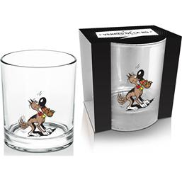Lucky Luke: Lucky Luke Whisky Glass Rantanplan