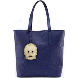 Star Wars: Star Wars by Loungefly Tote Bag C-3PO Debossed