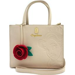 Skønheden og Udyret: Disney by Loungefly Tote Bag Belle Embossed (Beauty and the Beast)