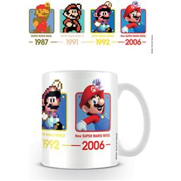 Nintendo: Super Mario Mug Dates
