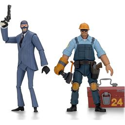 Team Fortress: Team Fortress Action Figures 18 cm Serie 3.5 BLU