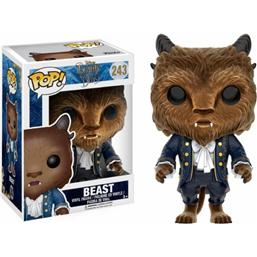 Udyret (Beast) Flocked POP! Disney Vinyl Figur (#243)