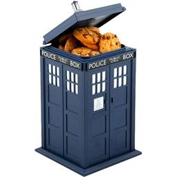 Tardis Cookie Jar with Sound & Light Up