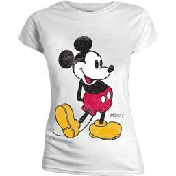 Mickey Mouse Ladies T-Shirt Classic Kick (damemodel)
