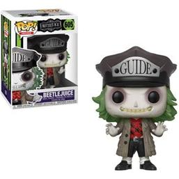 Beetlejuice Guide Hat POP! Horror Vinyl Figur (#605)