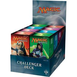 Magic the Gathering: Magic the Gathering Challenger Decks Display 8 Sets English